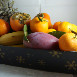 Corbeille de Fruits de Noël...