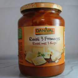 Ravioli 3 Fromages 670g