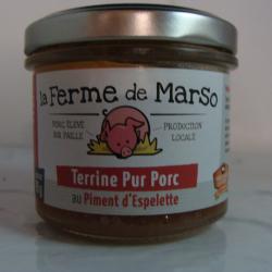 Terrine Pur Porc au Piment...