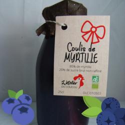 Coulis de Myrtille 25 cl
