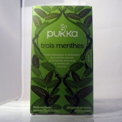 Tisane Pukka aux 3 Menthes