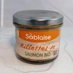Rillettes de Saumon Bio 90g