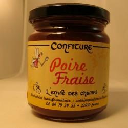 Confiture Poire Fraise 230g